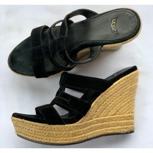 Ugg Tawnie espadrille wedge Size 7